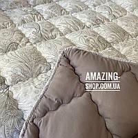 "Одеяло полуторное на холлофайбере ""ODA"" 175*210 см | Тепла ковдра, наповнювач холлофайбер. Стеганое одеяло ОДА"