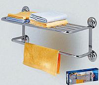Полка для полотенец на вакуумных присосках, фото 1