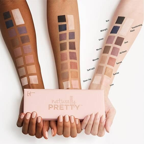 Палетка теней для век IT COSMETICS Naturally Pretty™ Matte Luxe Transforming Eyeshadow Palette