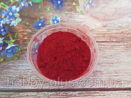 Ворсовой порошок (бархатная пудра, флок) ТЕМНО-КРАСНЫЙ, 3 грамма