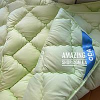 "Одеяло двухспальное на холлофайбере ""ODA"" 175*210 см   Тепла ковдра, наповнювач холлофайбер."