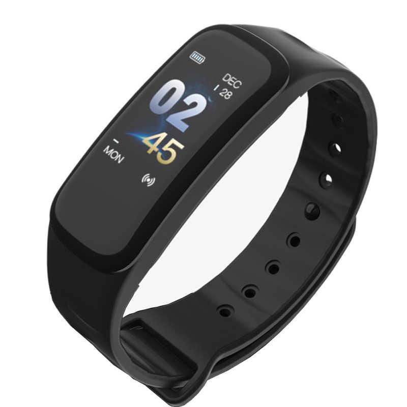 Фитнес браслет Smart Band C1 Черный
