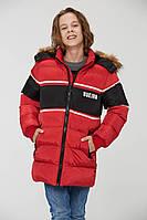 Зимняя куртка пуховик для мальчика рост 158. Glo-story 9197 Венгрия
