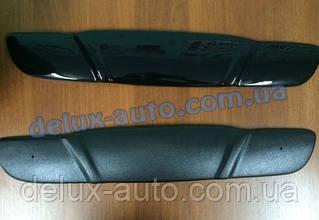 Зимняя накладка на решетку глянец (верхняя) на Daewoo Lanos