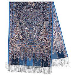 Чотири вітри 1881-64, павлопосадский шарф-палантин вовняної з шовковою бахромою