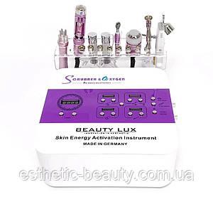 Косметологический комбайн 8 в 1  BEAUTY LUX Scrubber & O2xygen