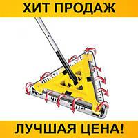 SALE!Электровеник треугольный Twister Sweeper