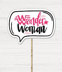 "Табличка для фотосессии ""Wonder woman"""