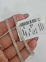 Цепочка серебряная с плетением Двойной якорь, фото 1