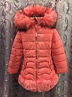 Зимняя куртка для девочки 4,5,6 л
