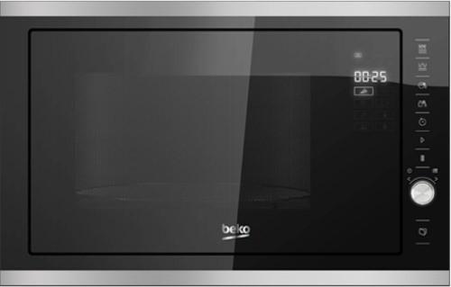 Встраиваемая микроволновая печь Beko MCB25433X [900W, Гриль]
