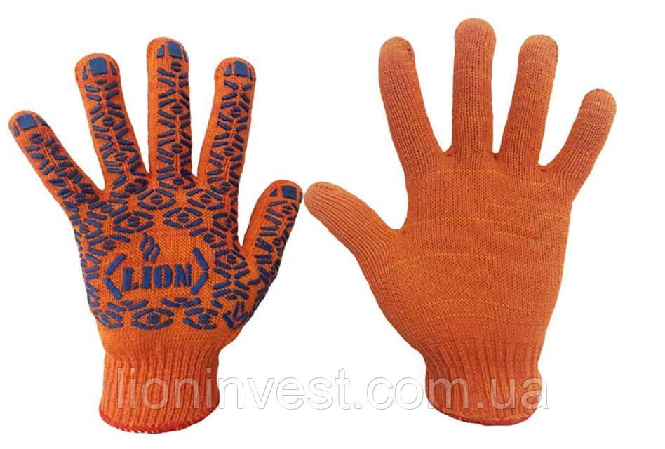 Перчатки рабочие с ПВХ покрытием, 10 класс