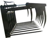 Вилы-захват для силоса на фронтальный погрузчик КУН, фото 1