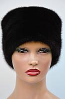 Женская норковая шапка Кубанка защип, фото 1