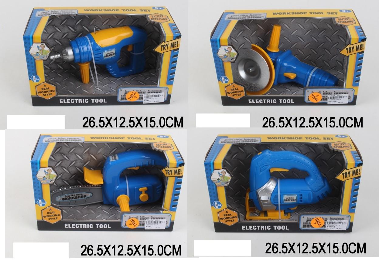 Детские игровые инструменты на батарейках 7917A/B/C/D 4 вида