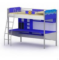 Ліжко-горище з робочою зоною Ocean Оd-16-1 підлітку, фото 1
