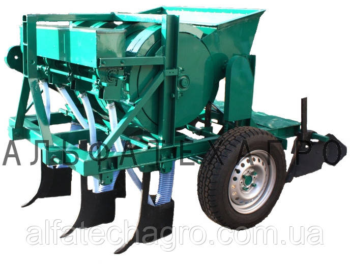 Чесночная сажалка для трактора