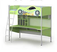 Кровать-чердак с рабочей зоной Driver Dr-16-1 подростку