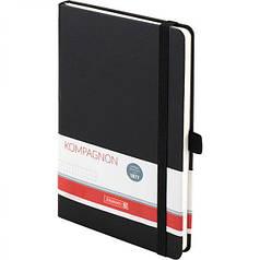 Книга записная А5 Brunnen Компаньон, точка, черная