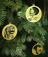 Кошмар перед Рождеством Виниловые игрушки Декор на новый год Праздничные новогодние украшения Новогодний набор