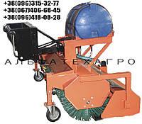 Щетка дорожная (коммунальная) к телескопическим погрузчикам, фото 1