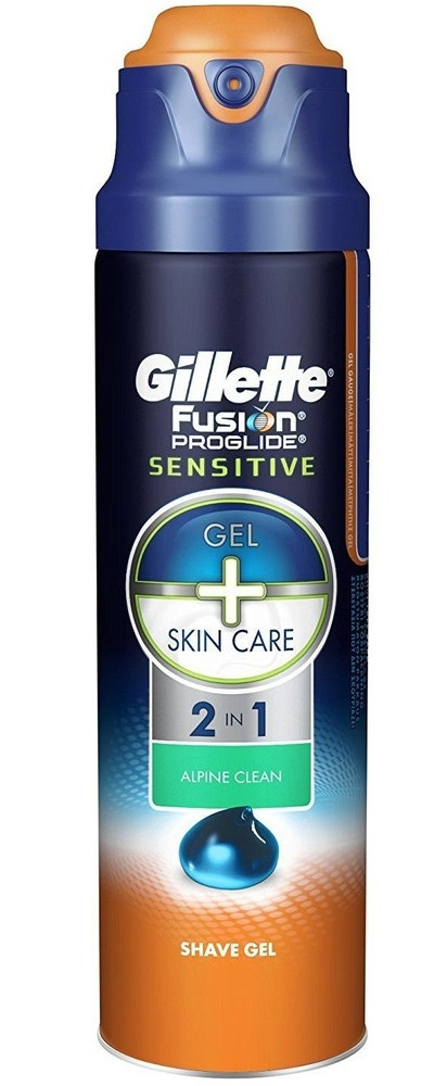 Гель для гоління Gillette Fusion ProGlide Sensitive Alpine Clean 2 in 1 170 мл