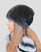 Норковая шапка женская Кубанка бант, фото 1