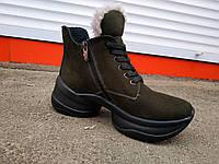 Жіночі спортивні зимові черевики 36-41 р., фото 1