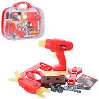 Детский набор инструментов 6602 в чемодане игрушечный набор