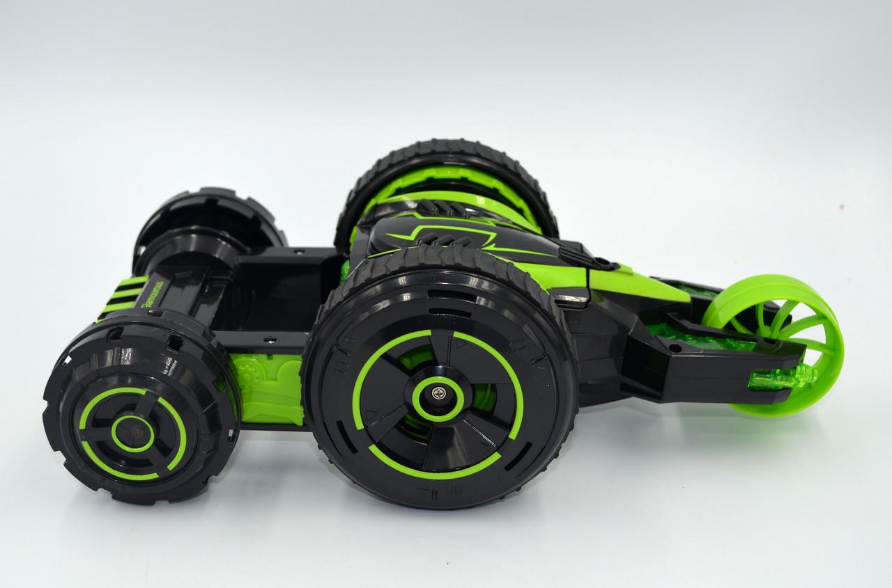 Автомобіль трансформер, перевертень на радіокеруванні JJRC Q49 ACRO зелений (JJRC-Q49G)