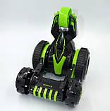 Автомобіль трансформер, перевертень на радіокеруванні JJRC Q49 ACRO зелений (JJRC-Q49G), фото 4
