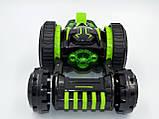Автомобіль трансформер, перевертень на радіокеруванні JJRC Q49 ACRO зелений (JJRC-Q49G), фото 5