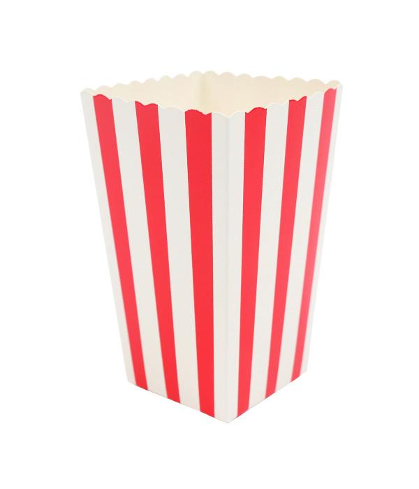 "Коробочка для попкорна ""Red stripes"" (1 шт.)"