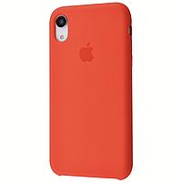 Чехол на айфон Xr Silicone case for iPhone Xr nectarine силиконовый чехол на айфон