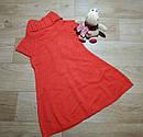Стильное красное вязаное платье на девочку Crazy8 (США) (Размер 7-8Т), фото 2