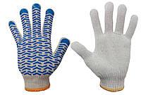 Перчатки ХБ с ПВХ покрытием Волна, 10 класс