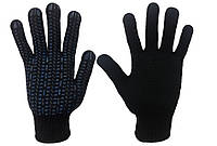 Перчатки рабочие ХБ с ПВХ покрытием Квадрат, 10 класс