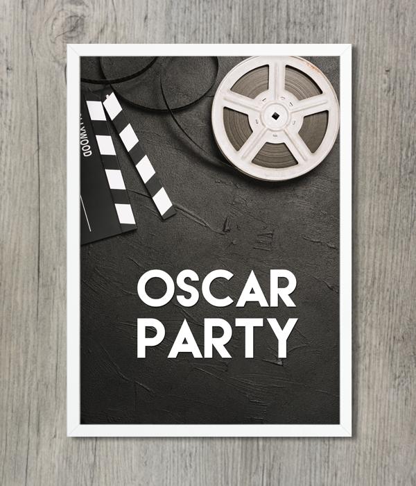 """Постер """"Oscar Party"""""""