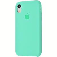 Чехол на айфон Xr Silicone case for iPhone Xr spearmint силиконовый чехол на айфон
