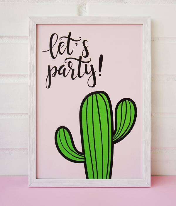 """Постер """"Let's Party!"""""""