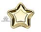 """Бумажные тарелки """"Gold stars"""" (6 шт.), фото 3"""