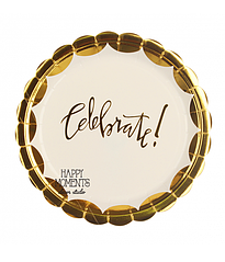 "Паперові тарілки ""Celebrate"" (10 шт.)"