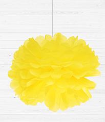 Бумажный пом-пон 35 см. (12 цветов)