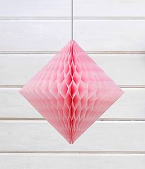"Объемный бриллиант ""Blush pink"""