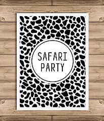 "Постер ""Safari"" (2 размера)"
