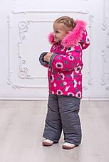 Теплый зимний комбинезон на девочку, фото 2