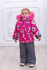 Теплый зимний комбинезон на девочку, фото 3