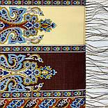 Четыре ветра 1881-66, павлопосадский шарф-палантин шерстяной с шелковой бахромой, фото 6