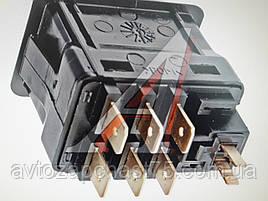 Выключатель отопителя Газ 24, 3110, Паз , производитель Автоарматура, Россия