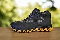 Мужские кожаные зимние ботинки ECCO  core-tex